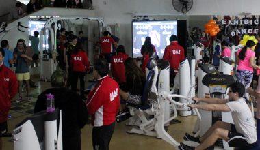 Competencia DancePad en el Gimnasio UAI