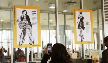 Bibliotecas UAI traslada exposición a Biblioteca de Peñalolén