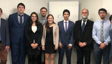 Equipo de la Facultad de Derecho UAI participa en ensayo nacional para la Competencia Internacional de Arbitraje