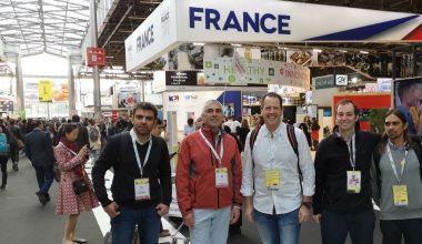 Miembros del CIET UAI acompañan a ganadores InnovaPack a visitar la Feria SIAL de Francia