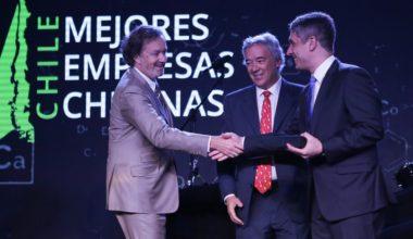 Deloitte, Banco Santander y Escuela de Negocios UAI premiaron a las Mejores Empresas Chilenas 2018