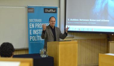 Expertos internacionales conversaron en la UAI en torno a Hobbes