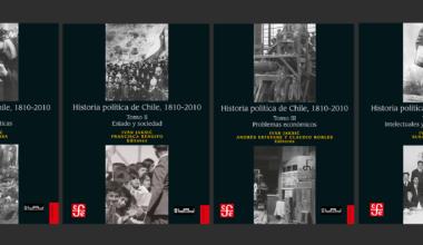 """""""Historia Política de Chile 1810-2010"""" dentro de los mejores libros 2018"""