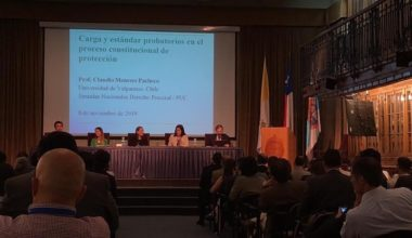 Académicos Carlos Correa y Sophía Romero participan en la VII versión de las Jornadas Nacionales de Derecho Procesal