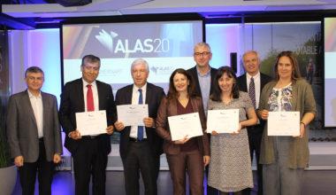 Aguas Andinas, gran ganador premio que reconoce líderes sustentables «ALAS20 2018»