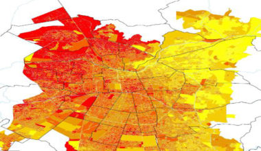 CIT UAI realiza estudio de amplitud térmica del Gran Santiago