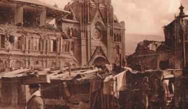 Recordando un aciago suceso: el terremoto de agosto de 1906