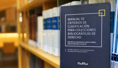UAI crea manual para clasificar bibliografía legal
