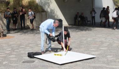 Físicos de la UAI repiten milenario experimento que muestra que la tierra es redonda