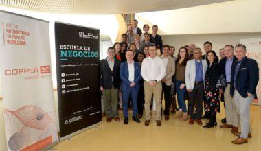 MBA de Loyola University of Chigago visitó la UAI para conocer sobre emprendimiento Copper 3D