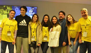 """Estudiantes de Ingeniería Civil obtienen 2° lugar en """"Innovatón EY2"""""""