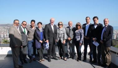 UAI se reúne con delegación de Universidad del Fútbol y Ciencias del Deporte de México