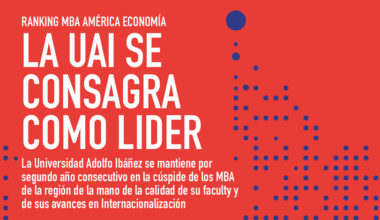 Escuela de Negocios UAI, por segundo año consecutivo N°1 en Ranking de AméricaEconomía