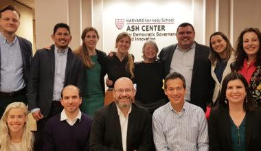 Académicos UAI presentan en Harvard proyecto de investigación sobre participación ciudadana