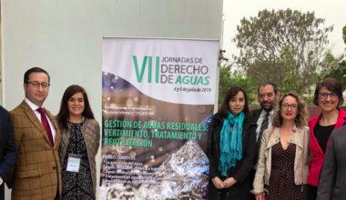 Académico UAI Christian Rojas participa en las VII Jornadas de Derecho de Aguas realizadas en Lima
