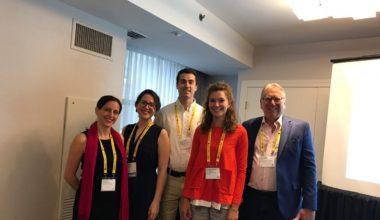 Profesora Elisa Adriasola y alumna de Ph.D Tamara Hernández participaron de la 79° Annual Meeting of the Academy of Management (AOM)