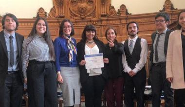 Alumnos de Derecho obtienen 2° lugar en Competencia de Semilleros de Derecho Procesal