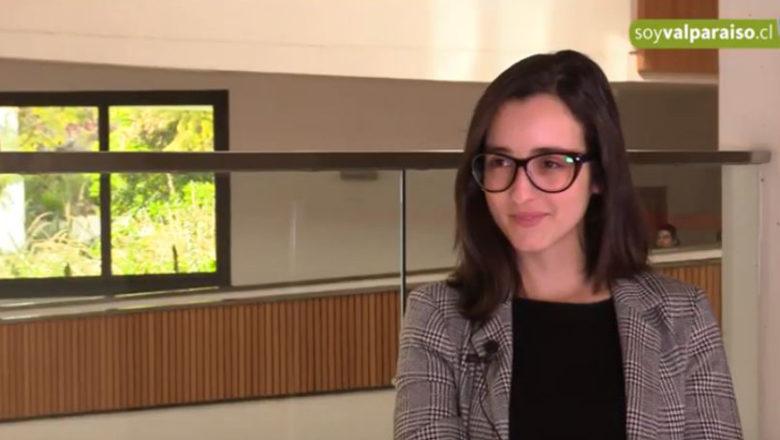 Maureen Berho, desarrolladora de videojuegos, en Región F