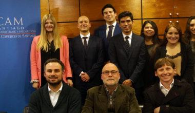 Equipo de Derecho UAI obtiene 2° lugar en  Pre-Moot CAM Santiago