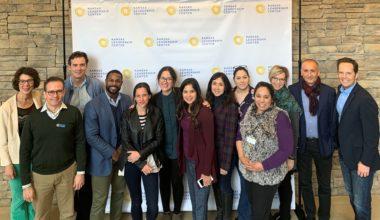 Profesora Elisa Adriasola y Tamara Hernández estudian liderazgo latino en EE.UU