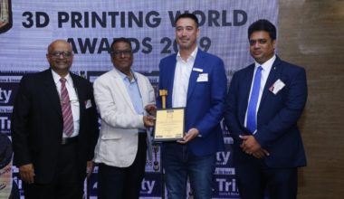 "Copper 3D gana premio ""Company of the Year"" en congreso de India"