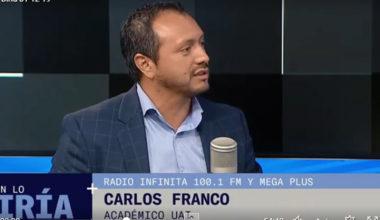 Carlos Franco y el protagonismo de las redes sociales