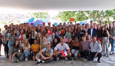 ¡Bienvenidos estudiantes internacionales 2020!