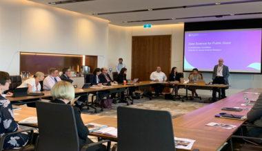 GobLab y académicos internacionales dictan taller de ciencia de datos en Australia