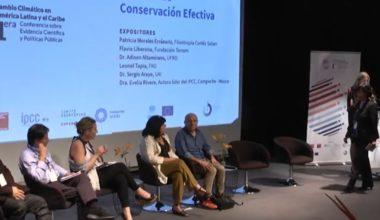 Sergio Araya expuso en conferencia regional para el cambio climático