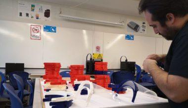 Facultad de Ingeniería y Ciencias participa en proyecto regional para elaboración de escudos faciales