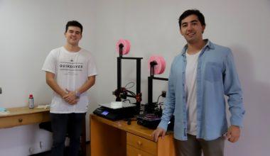 Mil mascarillas 3D para donar: conoce el proyecto de alumno de Ingeniería Comercial UAI
