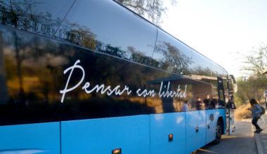 Buses de Acercamiento Peñalolén en Plan de Retorno UAI