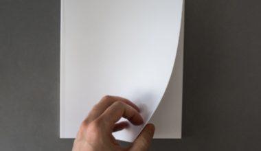 ¿Qué significa la hoja en blanco?