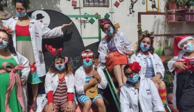 La labor de clowns en una unidad de cuidados paliativos pediátricos en Chile