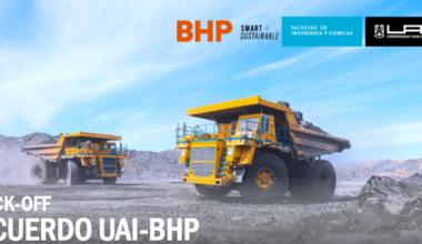 Ingeniería UAI realiza acuerdo de colaboración con minera BHP