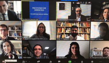 UAI realiza primera versión de seminario internacional sobre filosofía del derecho civil
