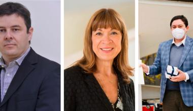Profesores Ricardo Úbeda, Constanza Bianchi y Víctor Nazer premiados en aniversario UAI